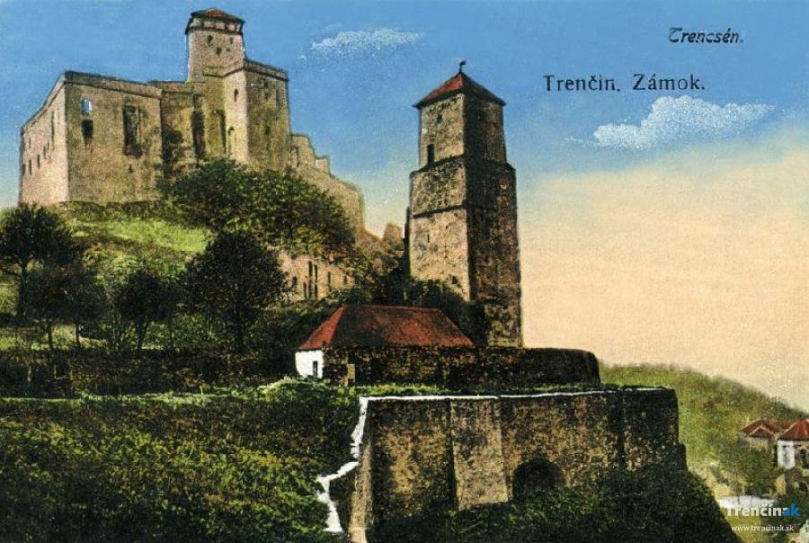 Historické fotografie mesta Trenčín - 1.časť, foto 5
