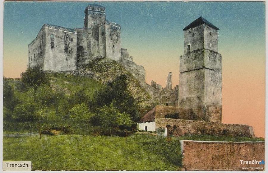 Historické fotografie mesta Trenčín - 1.časť, foto 6