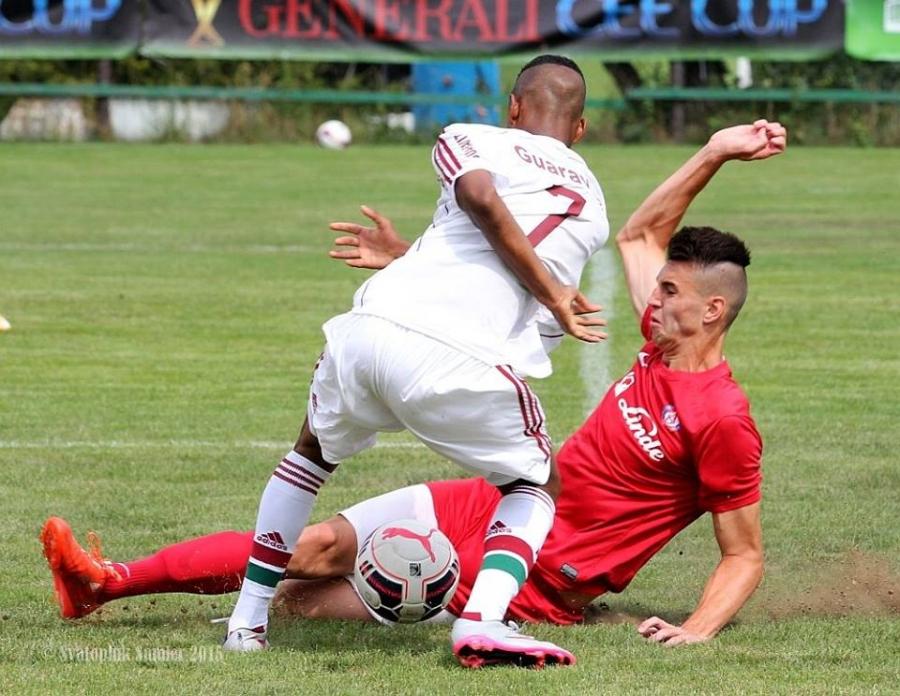 Dramaticky záver stretnutia FC Fluminense - AS Trenčín na turnaji U19 , foto 7