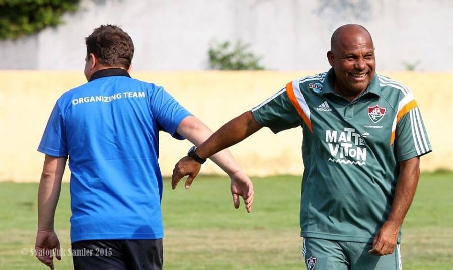 Dramaticky záver stretnutia FC Fluminense - AS Trenčín na turnaji U19 , foto 12