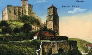 Historické fotografie mesta Trenčín - 1.časť