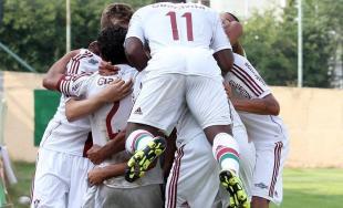 Dramaticky záver stretnutia FC Fluminense - AS Trenčín na turnaji U19