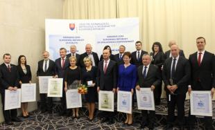 Ocenenie v Súťaži národná cena SR za spoločenskú zodpovednosť si domov odniesol Trenčiansky kraj