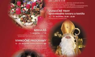 Čaro Vianoc pod hradom 2017 v Trenčíne láka návštevníkov bohatým programom