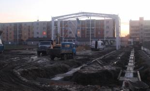 Telocvičňa Športového gymnázia sa už začína rysovať, do júla 2018 by mala byť hotová