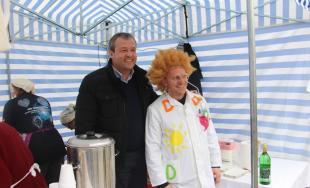 Na fašiangovej zábave a posedení v Prievidzi sa zúčastnili aj zástupcovia Trenčianskeho kraja