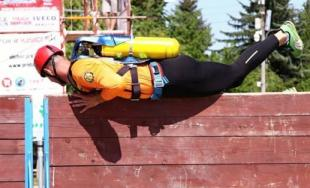 V Bánovciach nad Bebravou sa konal už 7. ročník hasičskej súťaže s názvom Železný hasič