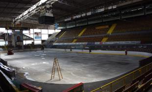 Mesto Trenčín obnovuje chladiarenské zariadenie Zimného štadiónu P. Demitru po viac ako 20 rokoch