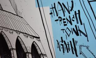 Umelci vdýchli nový život stenám podchodu na Hasičskej ulici počas podujatia Fest ART v Trenčíne