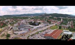 Air view – #83 - Prelet ponad Trenčín